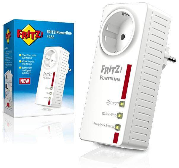 Fritz Powerline 546e Mesh